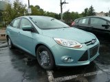 2012 Frosted Glass Metallic Ford Focus SE Sedan #53665492