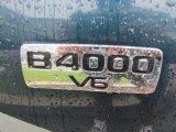 Mazda B-Series Truck 1997 Badges and Logos