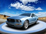 2005 Windveil Blue Metallic Ford Mustang V6 Premium Coupe #53673398