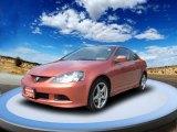 2006 Blaze Orange Metallic Acura RSX Type S Sports Coupe #53673396