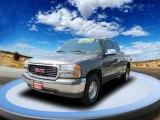 2001 Storm Gray Metallic GMC Sierra 1500 SLE Extended Cab 4x4 #53673385