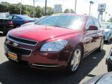 2008 Red Jewel Tint Coat Chevrolet Malibu LT Sedan #53673373