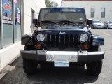 2011 Black Jeep Wrangler Sahara 4x4 #53673332