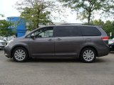2011 Predawn Gray Mica Toyota Sienna Limited AWD #53673283