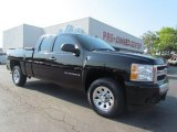 2008 Black Chevrolet Silverado 1500 Work Truck Extended Cab #53672371