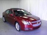 2008 Red Jewel Tint Coat Chevrolet Malibu LTZ Sedan #53672360