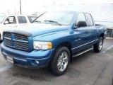 2002 Atlantic Blue Pearl Dodge Ram 1500 Sport Quad Cab 4x4 #5345207