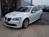 2009 White Hot Pontiac G8 GT #5361256