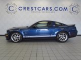2009 Vista Blue Metallic Ford Mustang Shelby GT500 Coupe #53672259