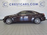 2009 Black Cherry Cadillac CTS 4 AWD Sedan #53672228