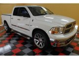 2009 Stone White Dodge Ram 1500 Big Horn Edition Quad Cab 4x4 #53672212
