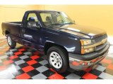 2005 Dark Blue Metallic Chevrolet Silverado 1500 Regular Cab #53672206