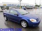 2007 Pace Blue Chevrolet Cobalt LS Coupe #53673129