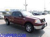 2006 Dark Toreador Red Metallic Ford F150 XLT SuperCab 4x4 #53673124