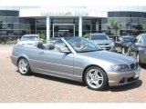 2004 Silver Grey Metallic BMW 3 Series 330i Convertible #53672166