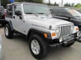 2006 Jeep Wrangler Bright Silver Metallic