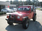 2006 Flame Red Jeep Wrangler SE 4x4 #53672086