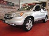 2010 Alabaster Silver Metallic Honda CR-V EX AWD #53672978