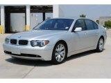 2003 Titanium Silver Metallic BMW 7 Series 745Li Sedan #53671938