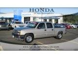 2005 Silver Birch Metallic Chevrolet Silverado 1500 LS Crew Cab #53671928