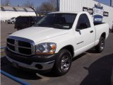 2006 Bright White Dodge Ram 1500 ST Regular Cab #5347913