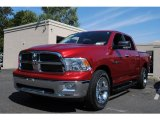 2010 Inferno Red Crystal Pearl Dodge Ram 1500 ST Crew Cab 4x4 #53672823