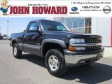 2000 Onyx Black Chevrolet Silverado 1500 Z71 Regular Cab 4x4 #53672760