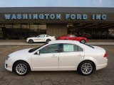2011 White Platinum Tri-Coat Ford Fusion SEL V6 #53671791