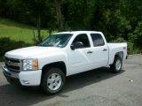 2011 Summit White Chevrolet Silverado 1500 LT Crew Cab 4x4 #53672709