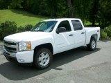 2011 Summit White Chevrolet Silverado 1500 LT Crew Cab 4x4 #53672706