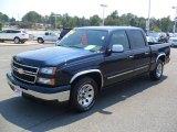 2006 Dark Blue Metallic Chevrolet Silverado 1500 LS Crew Cab #53672700