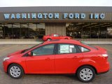 2012 Race Red Ford Focus SE Sedan #53671765