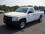 2011 Summit White Chevrolet Silverado 1500 Regular Cab #53672681