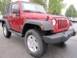 2012 Jeep Wrangler Deep Cherry Red Crystal Pearl