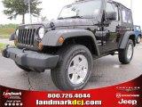 2012 Black Jeep Wrangler Sport S 4x4 #53775412