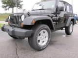 2012 Jeep Wrangler Black