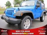 2012 Cosmos Blue Jeep Wrangler Sport S 4x4 #53775411