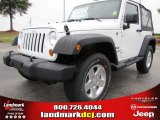 2012 Bright White Jeep Wrangler Sport S 4x4 #53775409