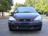 2003 Twilight Blue Metallic Ford Focus LX Sedan #53672562