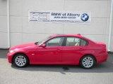 2007 Crimson Red BMW 3 Series 328i Sedan #53671730