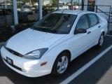 2003 Cloud 9 White Ford Focus ZTS Sedan #440955