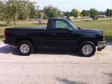 2006 Black Chevrolet Silverado 1500 Work Truck Regular Cab 4x4 #53672656