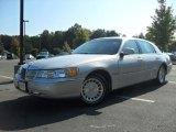 2000 Silver Frost Metallic Lincoln Town Car Executive #53672521