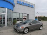 2006 Galaxy Gray Metallic Honda Civic Si Coupe #53775125