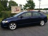 2007 Royal Blue Pearl Honda Civic EX Sedan #53671685