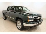 2006 Dark Green Metallic Chevrolet Silverado 1500 LS Crew Cab #53672627