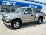 2002 Light Pewter Metallic Chevrolet Silverado 1500 LS Regular Cab 4x4 #53672497