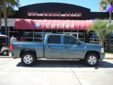 2007 Blue Granite Metallic Chevrolet Silverado 1500 LT Crew Cab #53774758