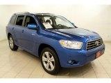 2008 Blue Streak Metallic Toyota Highlander Sport 4WD #53672614
