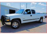 1999 Summit White Chevrolet Silverado 1500 LS Extended Cab 4x4 #53671655